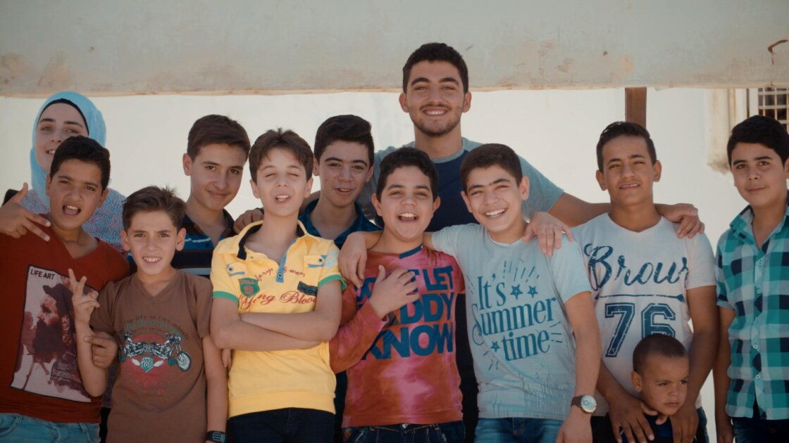 Mohamad met kids (2)
