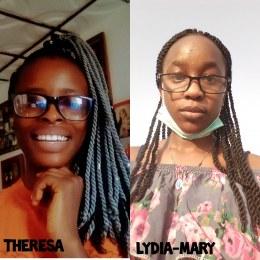 Picture Theresa & Lydia-Mary Onokpasa