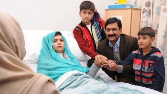 Malala injured