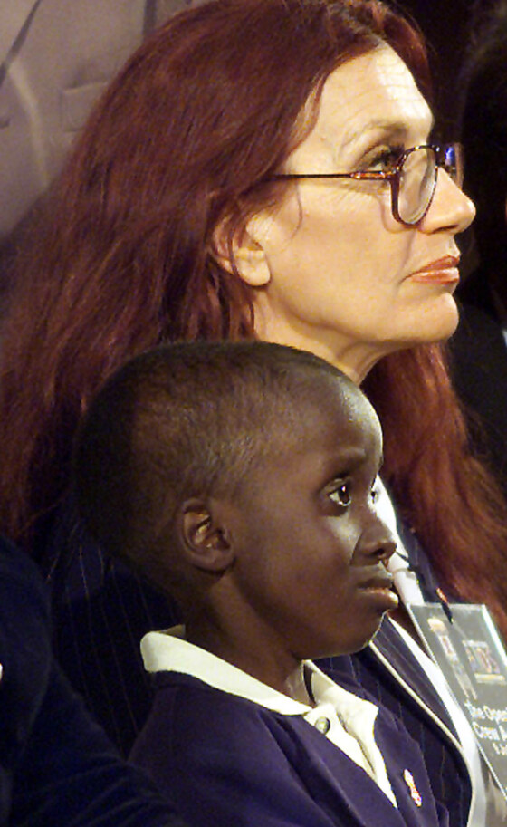 – FILE PHOTO 12JUL01 -Nkosi Johnson, the 12-year-old South African boy who became an icon in Africa'..