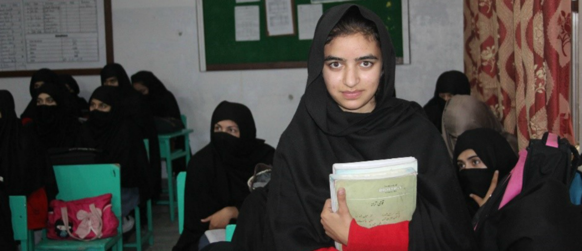 Action – higher secondary education for girls